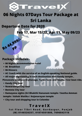 06 Nights 07 Days Tour Package at Sri Lanka (1)